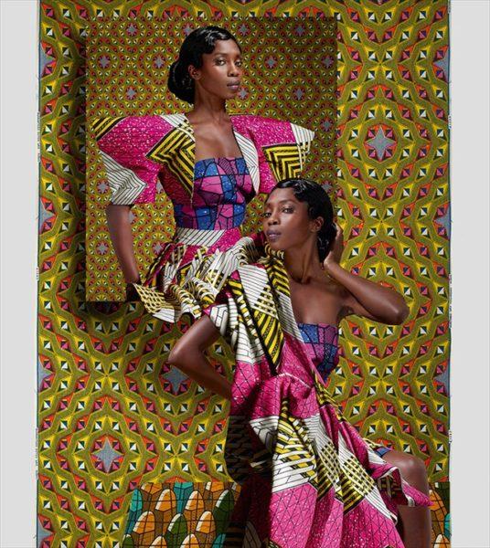 Vlisco's Jeu De Couleurs Collection Ad Campaign - February 2013 - BellaNaija003