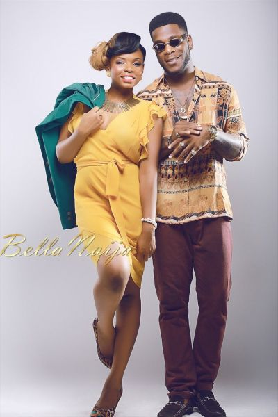 BN Exclusive: Yemi Alade & Burna Boy in Sizzling Photo Shoot for