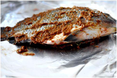 fish in paste