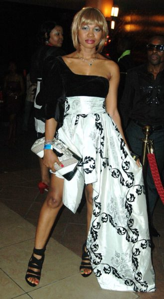 Goldie at the Airtel Africa Music Awards in 2010