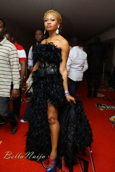 Miss Goldie Harvey at the 2011 Headies