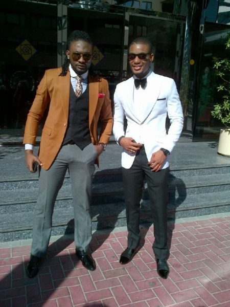 Uti Nwachukwu & Alex Ekubo