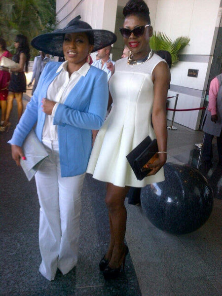 Rita Dominic & Susan Peters