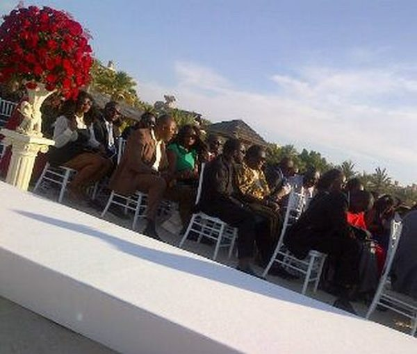 Guests Seated