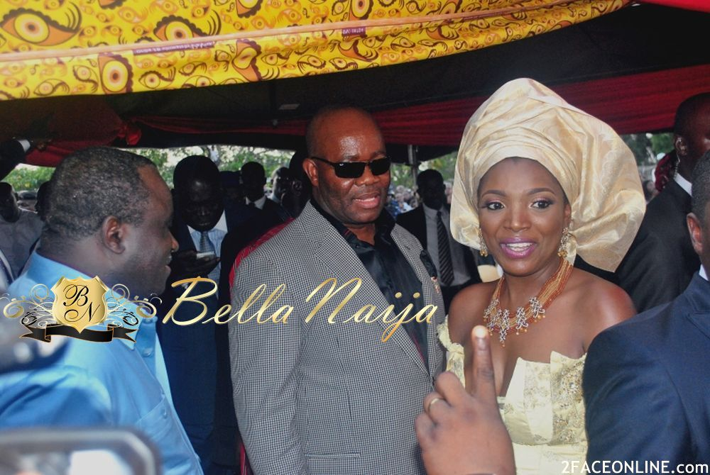 Annie macaulay idibia wedding