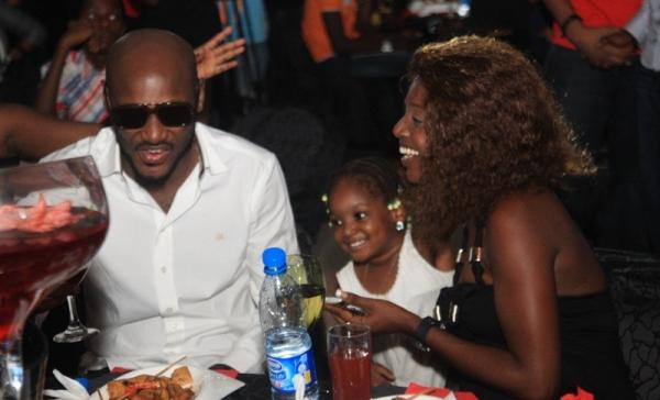 2Face, Annie & Isabel at a Party