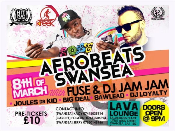 Afrobeats Swansea