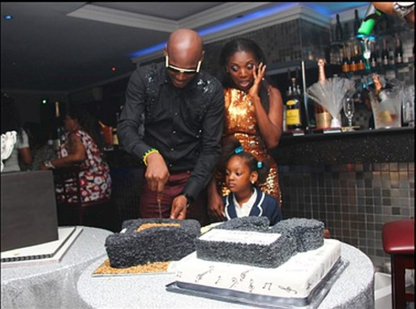 At the Surprise Party Annie hosted for 2Face's Birthday in 2012