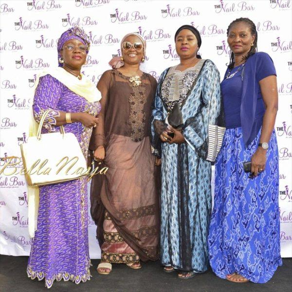 Mulikat Akande Adeola, Mrs  Abraham, Fatima Bamidele & Mrs Cole