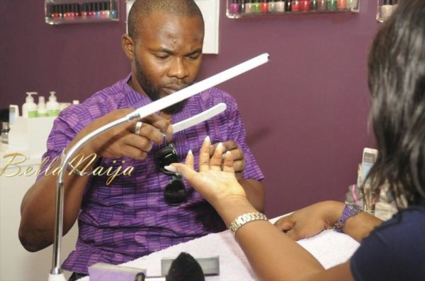 BN Exclusive_ Nail Bar Abuja Launch - February 2013 - BellaNaija038