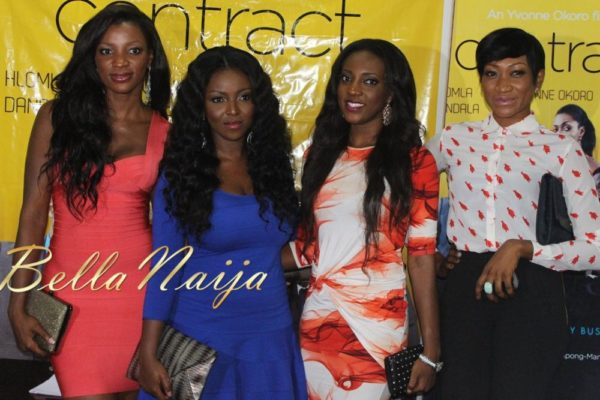 BN Exclusive_ Yvonne Okoro's The Contract Press Conference in Lagos - March 2013 - BellaNaija004