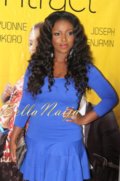 BN Exclusive_ Yvonne Okoro's The Contract Press Conference in Lagos - March 2013 - BellaNaija008