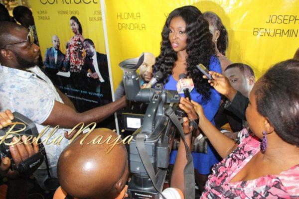 BN Exclusive_ Yvonne Okoro's The Contract Press Conference in Lagos - March 2013 - BellaNaija013