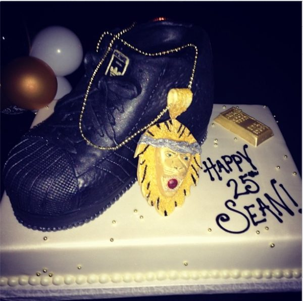 Big Sean Birthday Cake