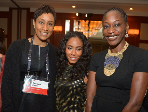 Johnson Publishing CEO Desiree Rogers, Jada & Hafsat
