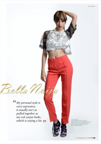 Eku Edewor & Ice Prince cover Complete Fashion Magazine's March 2013 Issue - March 2013 - BellaNaija001