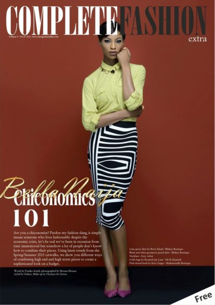 Eku Edewor & Ice Prince cover Complete Fashion Magazine's March 2013 Issue - March 2013 - BellaNaija003