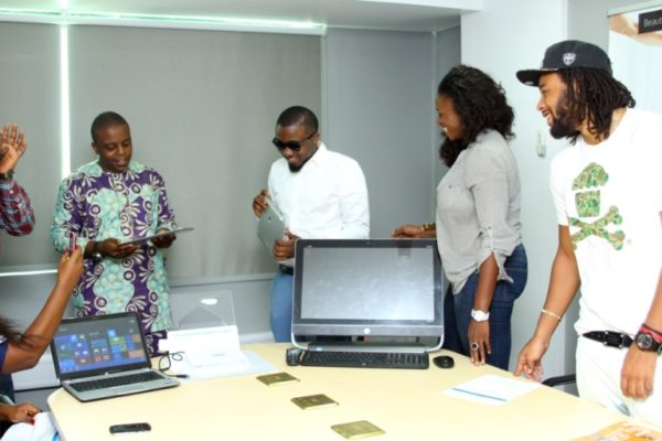 HPMicrosoft Launch with Waje, Ice Prince & P.R.E - March 2013 - BellaNaija001