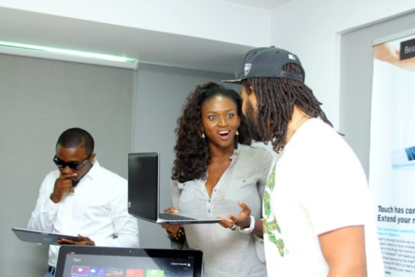 HPMicrosoft Launch with Waje, Ice Prince & P.R.E - March 2013 - BellaNaija004