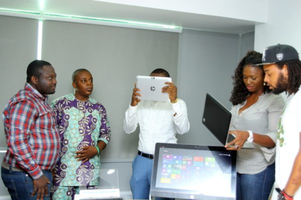 HPMicrosoft Launch with Waje, Ice Prince & P.R.E - March 2013 - BellaNaija005