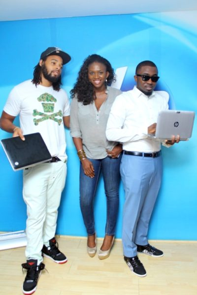 HPMicrosoft Launch with Waje, Ice Prince & P.R.E - March 2013 - BellaNaija039