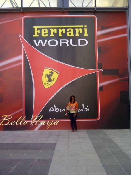 welcome to Ferarri World