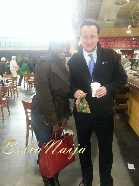 Kate Henshaw David Cameron