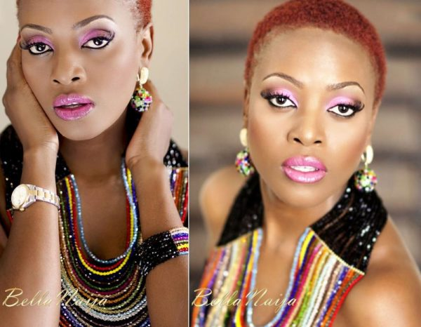 Makosi for GeeBalo Makeup & Beads Wed Expo - March 2013 - BellaNaija007