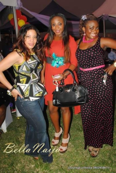Monalisa with guests including Ini Edo