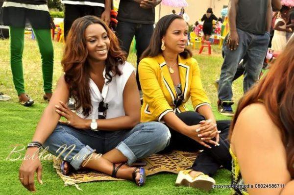 Genevieve Nnaji & Ibinabo Fiberesima