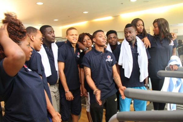 Nigerian Idol Contestants hang out with Wizkid -February 2013-BellaNaija004