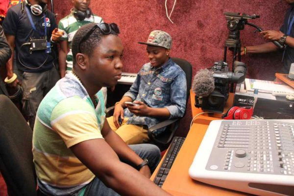 Nigerian Idol Contestants hang out with Wizkid -February 2013-BellaNaija006
