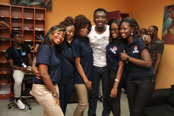 Nigerian Idol Contestants hang out with Wizkid -February 2013-BellaNaija013