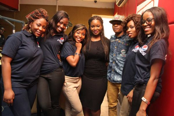 Nigerian Idol Contestants hang out with Wizkid -February 2013-BellaNaija017