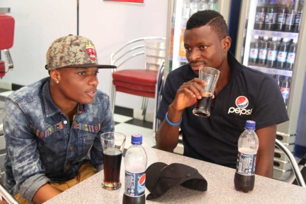 Nigerian Idol Contestants hang out with Wizkid -February 2013-BellaNaija019