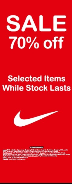 Obsess on Nike's Rising Supply Costs – Maybe You'll Make Shares ..., nike  sales. Enjoy a Whooping 70% Discount off Selected NIKE Products from NOW  ...,