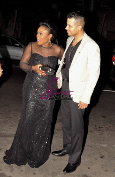 Nollywood Superstar Uche Jombo & husband Kenny Rodriguez My Life My Damage Lagos - March 2013 - BellaNaija001