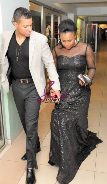 Nollywood Superstar Uche Jombo & husband Kenny Rodriguez My Life My Damage Lagos - March 2013 - BellaNaija005