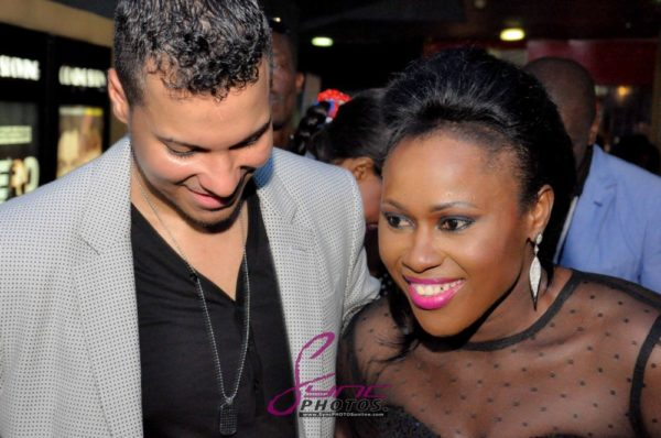 Nollywood Superstar Uche Jombo & husband Kenny Rodriguez My Life My Damage Lagos - March 2013 - BellaNaija006