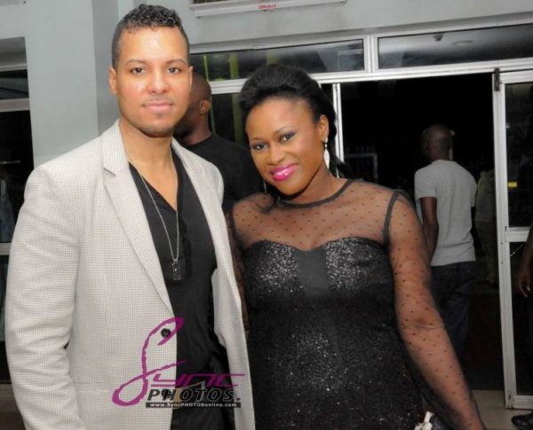 Nollywood Superstar Uche Jombo & husband Kenny Rodriguez My Life My Damage Lagos - March 2013 - BellaNaija008