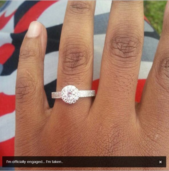 Nonhle Thema Engaged