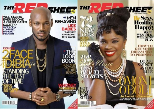 Omoni Oboli & 2Face Idibia cover The Redsheet Magazine's March 2013 Issue - BellaNaija03
