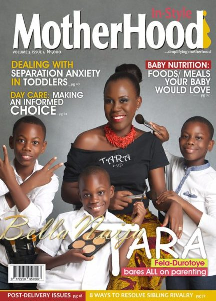 Tara Fela-Durotoye's Motherhood In-Style Magazine Cover Issue - BellaNaija01