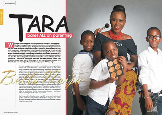 Tara Fela-Durotoye's Motherhood In-Style Magazine Cover Issue - BellaNaija03