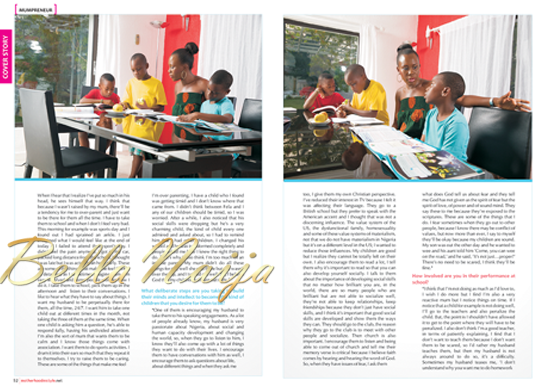 Tara Fela-Durotoye's Motherhood In-Style Magazine Cover Issue - BellaNaija05