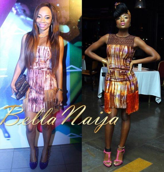 Toke Makinwa & Efya in House of Marie - March 2013 - BellaNaija
