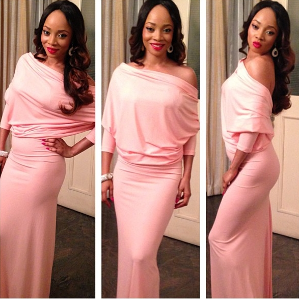 Toke Makinwa in Vonne Couture