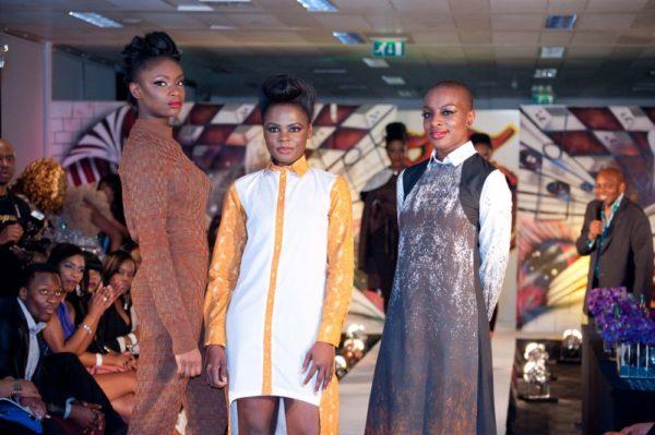 Top 3 - L to R Elizabeth Ofoaiye (3rd) Priscilla Shote (winner) & Venessa Agyemang (2nd