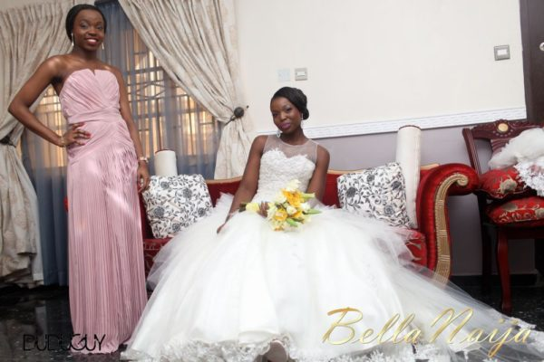 Tosin Alakija & Dotun Akinbode White Wedding 1 - March 2013 - BellaNaija062