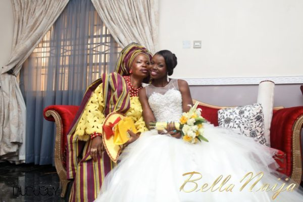 Tosin Alakija & Dotun Akinbode White Wedding 1 - March 2013 - BellaNaija063